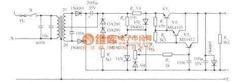 Index Power Supply Circuit Diagram
