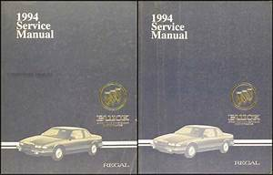 1994 Buick Regal Shop Manual Set Factory Original Repair