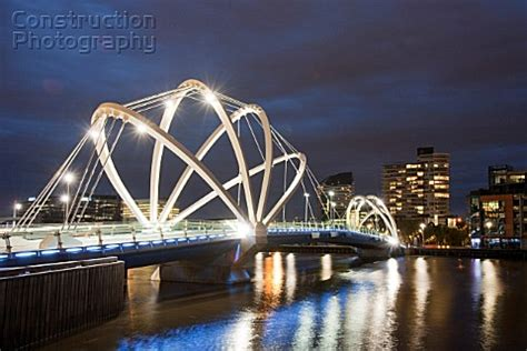 seafarers bridge  modern footbridge ac