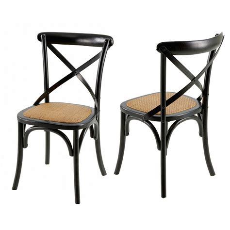 chaise de cuisine style bistrot chaises bistrot villa florence lot de 2 mooviin