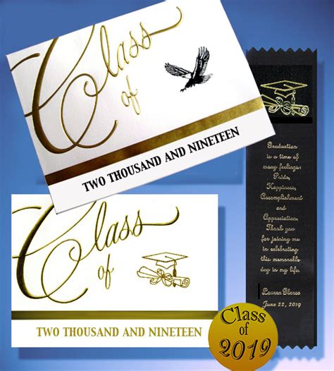 traditional graduation announcement  cards party
