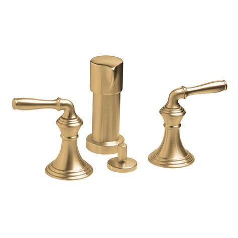 Kohler Brushed Bronze Bathroom Faucets by Shop Kohler Devonshire Vibrant Brushed Bronze Vertical