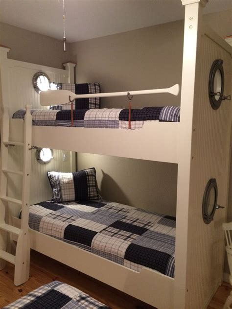 lights for bunk beds nautical bunks with portholes reading lights and oars bunk beds pinterest lights lake