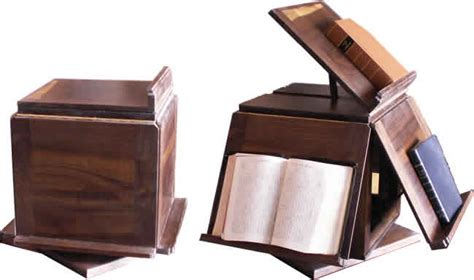 thomas jefferson book stand finewoodworking