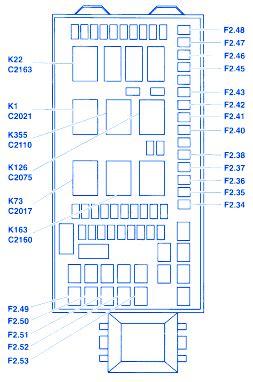 1997 Ford Duty Fuse Block Diagram by Ford F550 Superduty 2002 Fuse Box Block Circuit Breaker