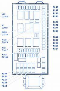 Ford F550 Superduty 2002 Fuse Box  Block Circuit Breaker