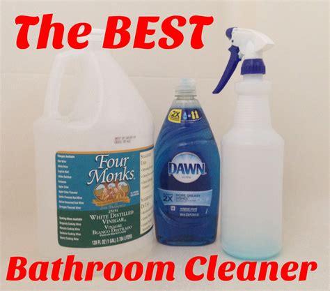 The Best Bathroom Cleaner Mismashedmom