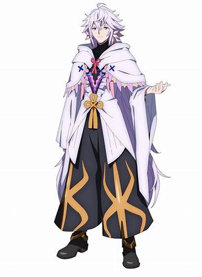 Fate Character Merlin Babylonia Anime Order Demonic