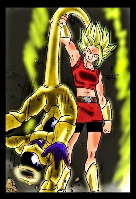 golden freezer  kale super saiyajin legendario manga