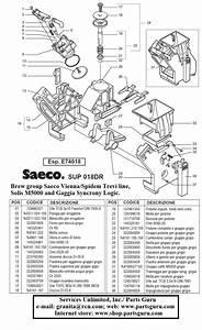 Saeco Vienna Plus Espresso Machines  Parts And Repairs