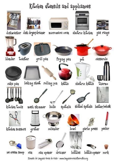 Kitchen Utensils & Appliances Flash Cardposter (1