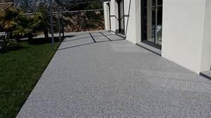 Moquette Exterieur Pour Terrasse : terrasse moquette de pierres vente et pose de ~ Edinachiropracticcenter.com Idées de Décoration