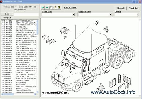 kenworth body parts kenworth spare parts catalog parts catalog order download