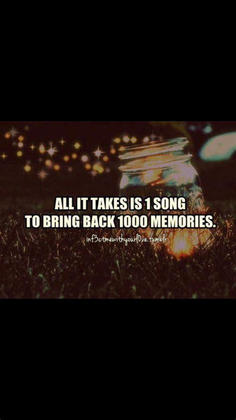 takes   song  bring   memories
