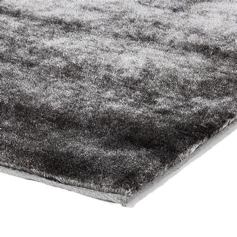 tapis poil gris pas cher tapis gris doux pas cher 133x190cm monbeautapis