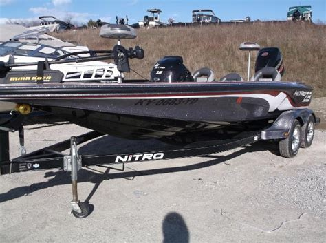 Bass Pro Shops Used Nitro Boats by Used Bass Nitro Boats For Sale 3 Boats