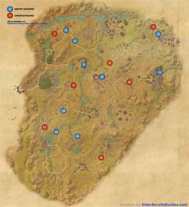 Reaper's March Skyshards Map Elder Scrolls Online Guides