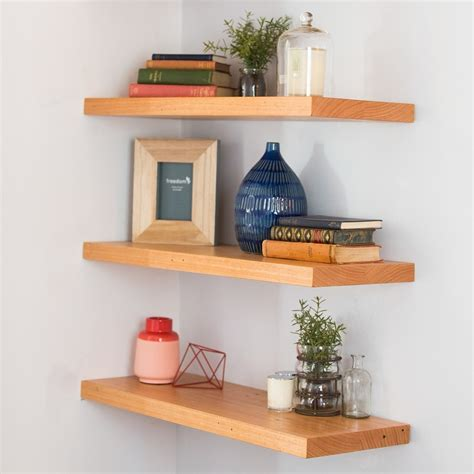 Timber Floating Shelf  By Connollys Timber  The Block Shop