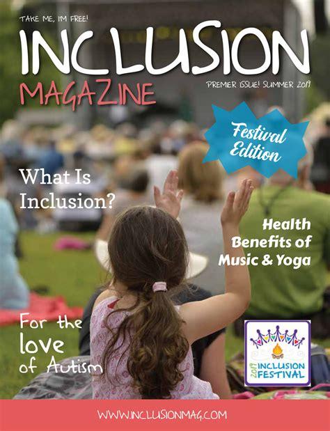 Inclusion Magazine Summer 2019 by Annette Pinder - Flipsnack