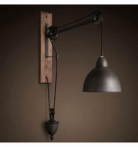 Lampe Murale Industrielle : 30 superbe lampe applique industrielle hyt4 luminaire salon ~ Teatrodelosmanantiales.com Idées de Décoration