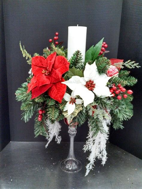 christmas candle centerpiece  michaels christmas