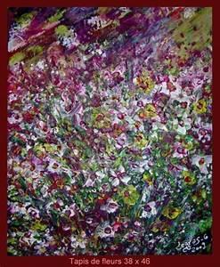 Tapis De Fleurs : peinture tapis de fleurs ~ Melissatoandfro.com Idées de Décoration