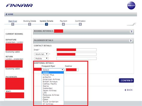 air one phone number how to alter your frequent flyer number in oneworld
