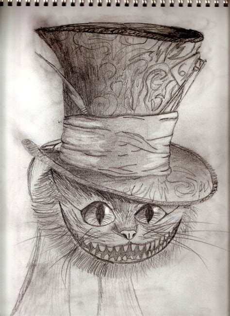 cheshire cat drawing drawings pinterest cheshire cat