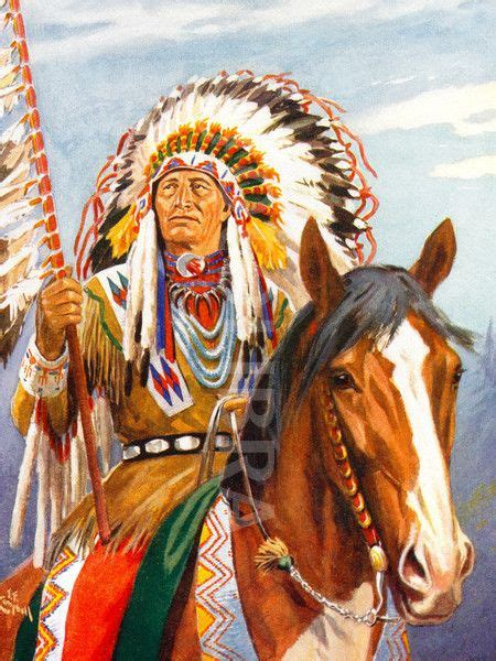 Indian Chief Picture by Indian Chiefs Indian Chief Illustration Usa