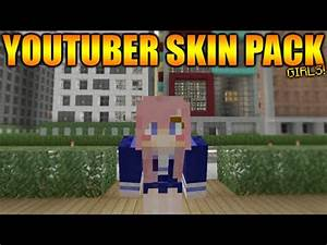 Minecraft Xbox 360 PS3 Custom Youtuber39s Skin Pack