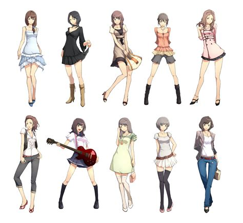 Cute Anime Outfits To Draw Easy To Draw Manga Girls Clothing How To Draw - Girls Clothes ...