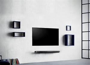 Fernseher An Die Wand Hängen Ohne Halterung : lg signature oled w diesen fernseher pappt ihr wie ein ~ Michelbontemps.com Haus und Dekorationen