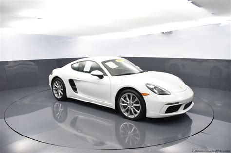 'the 718 cayman is all about balance. Certified Pre-Owned 2018 Porsche 718 Cayman Base 2D Coupe White in West Palm Beach #PC-PF27003 ...