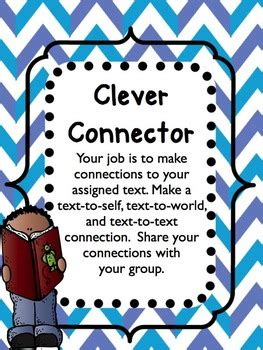 literature circle roles worksheets posters