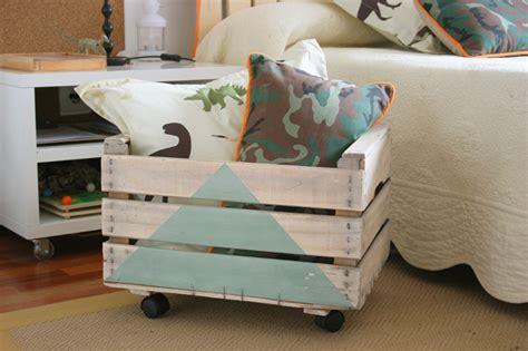 utiliza cajas de fruta  decorar tu hogar ideas perfectas