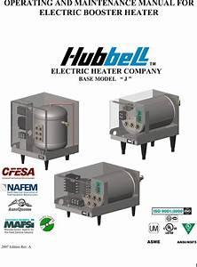 Hubbell Electric Heater Company J Users Manual