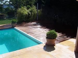 Tour De Piscine Bois : am nagement de tour de piscine et plage en haute loire 43 ~ Premium-room.com Idées de Décoration