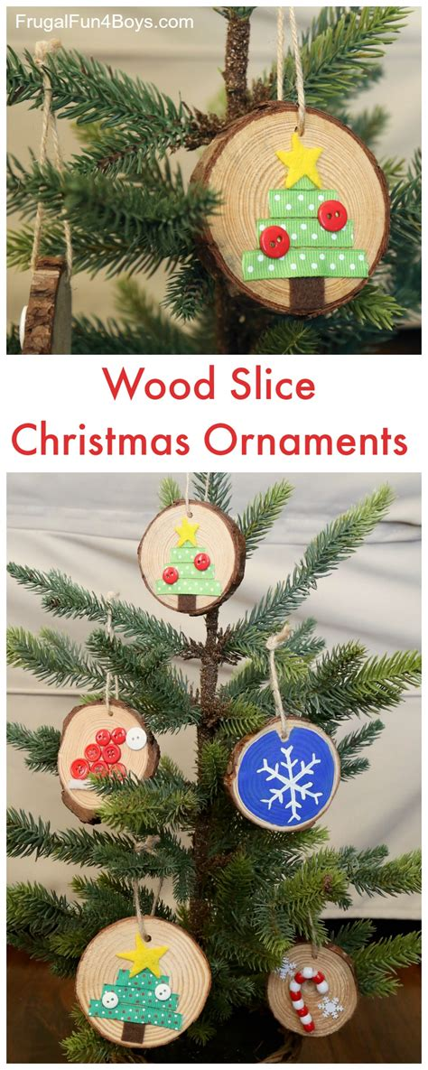ornament craft for 10 year old how to make adorable wood slice ornaments