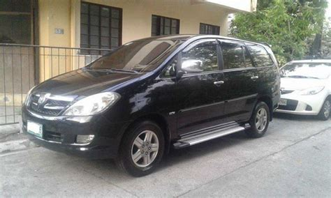 toyota innova v 2007 limited edition for sale used cars