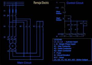Three Phase Star-delta Wiring Diagram