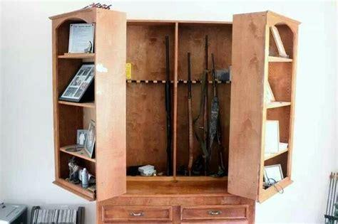 hidden gun cabinet furniture hidden gun cabinet for the home pinterest