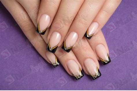 deco ongles en gel facile striping nail striping nail r 233 alisez une d 233 co ongle facile et rapide