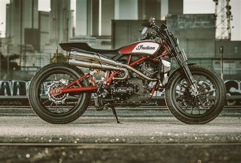 Indian Motorcycles Announced The Production Of An Ft1200