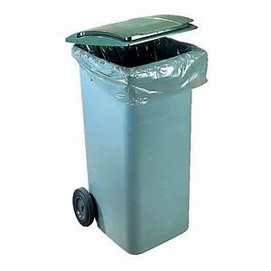 Poubelle 120 Litres : r serv aux pro conteneur d chets 120 litres plastic ~ Melissatoandfro.com Idées de Décoration