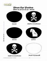 Pirate Printable Hat Eye Templates Patch Template Hats Pirates Patches Craft Pirata Cut Theme Selbermachen Docstoc Parche Docs Hawaiidermatology Bukaninfo sketch template