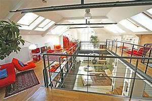 24 idees de mezzanines pour votre loft With deco de terrasse exterieur 16 mezzanine chambre bureau design industriel cdesign