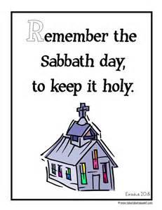 Keep the Sabbath Day Holy Bible