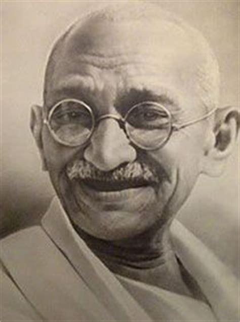 Famous Indian Leader Gandhi