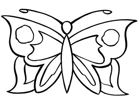 Coloring Butterfly by Butterfly Coloring Pages For