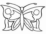 Butterfly Coloring Pages Butterflies sketch template